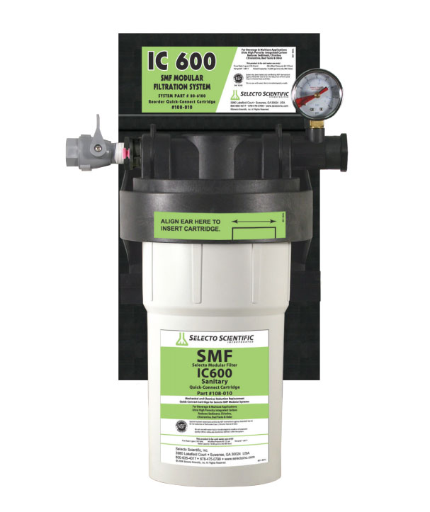Selecto SMF IC600 Filtration System